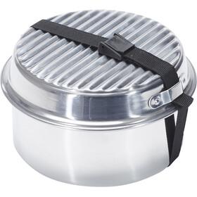 CAMPZ Aluminium Classic Set de cocina, silver